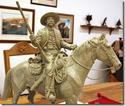 Bass Reeves Statue Clay Maquette 010